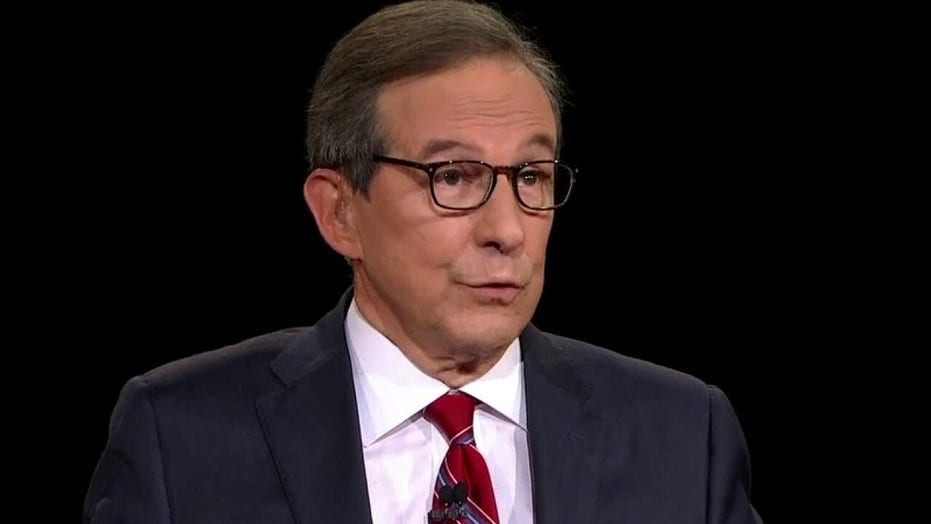 Chris Wallace scolds President Trump over debate interruptions
