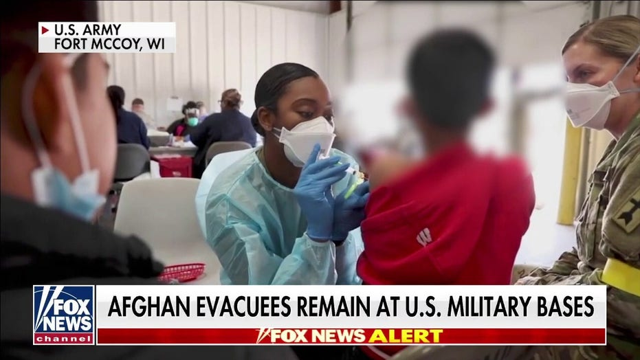 Thousands of Afghans stranded on US military bases as winter approaches