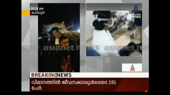 Indian news reports on apparent plane crash in Kozhikode