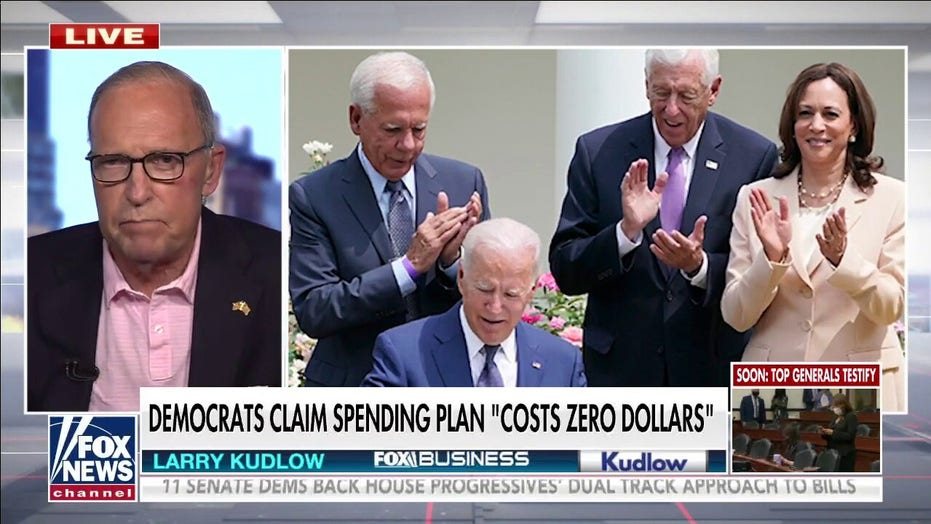 Larry Kudlow hammers Dems: Spending trillions is not 'cost-free' and will do 'great damage'