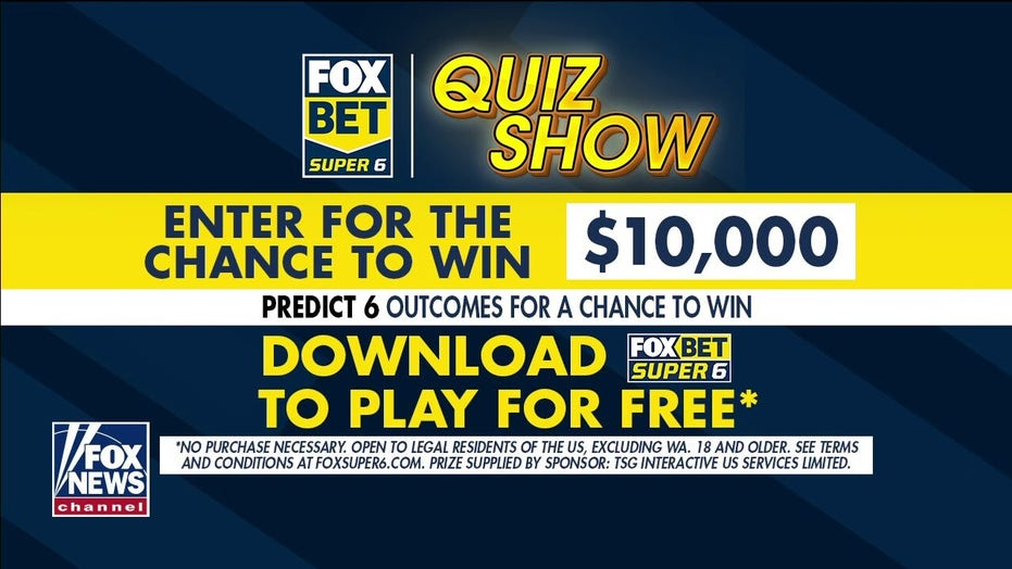 FOX Bet Super 6 Quiz Show: Answer sports, entertainment questions for chance to win $10,000