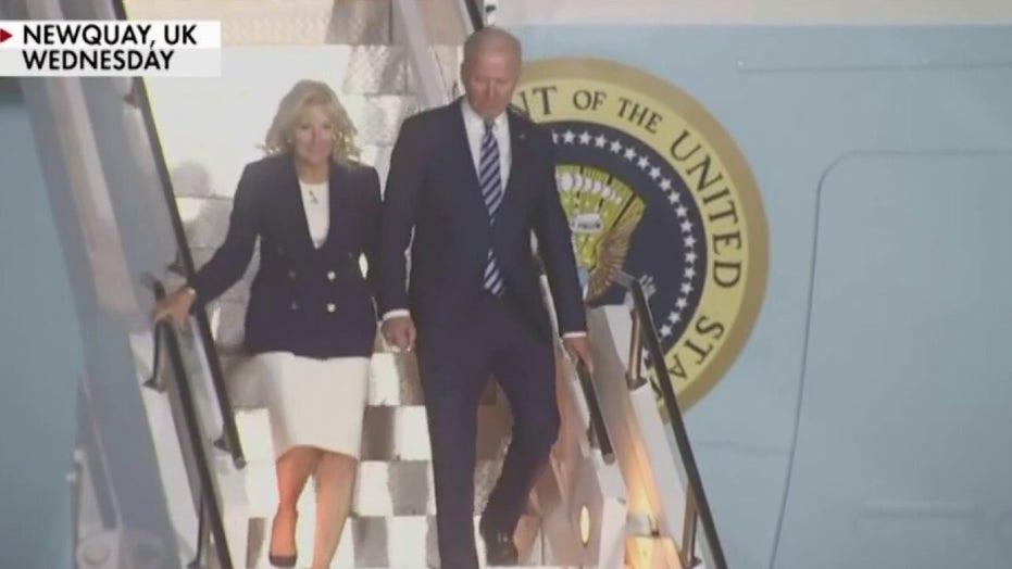 Gutfeld says you can 'Kiss the America first agenda goodbye'; Dana Perino calls Biden G-7 comments 'offensive'
