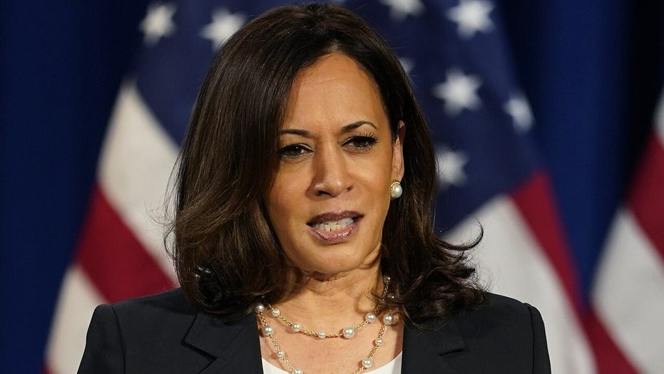 Kamala Harris warns of foreign interference in election