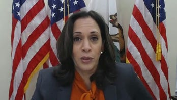 Kamala Harris contrasts Ginsburg with Barrett over women's rights