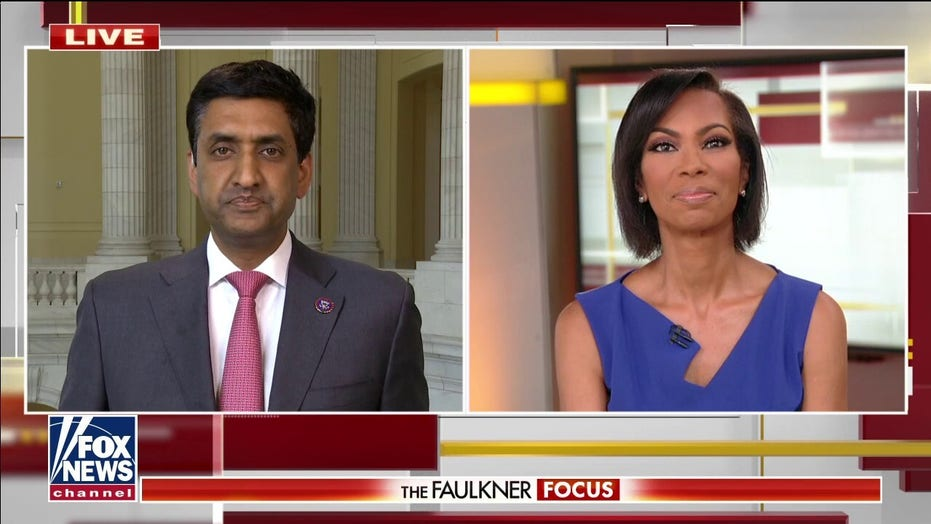 Harris Faulkner presses House Dem on crime surge: What is going on in your party?