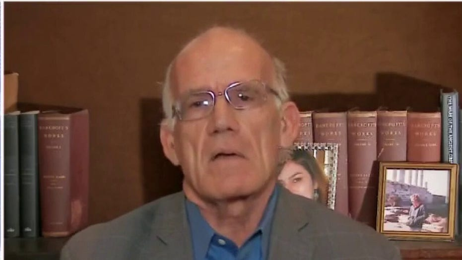 Victor Davis Hanson on 'dangerous' Bank of America data share: 'People have got to wake up'