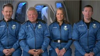 William Shatner previews upcoming Blue Origin space flight