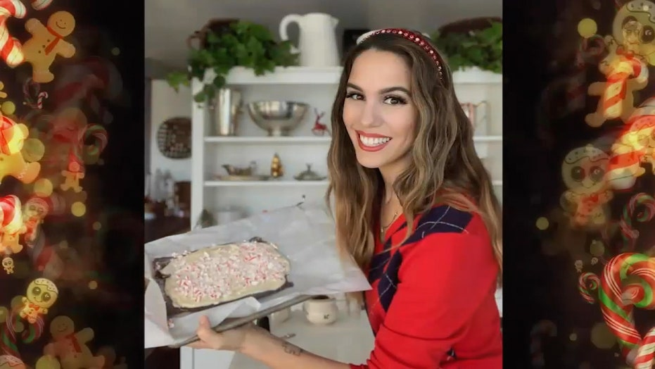 Christy Carlson Romano's peppermint bark is a sweet (and cathartic) treat for the whole family