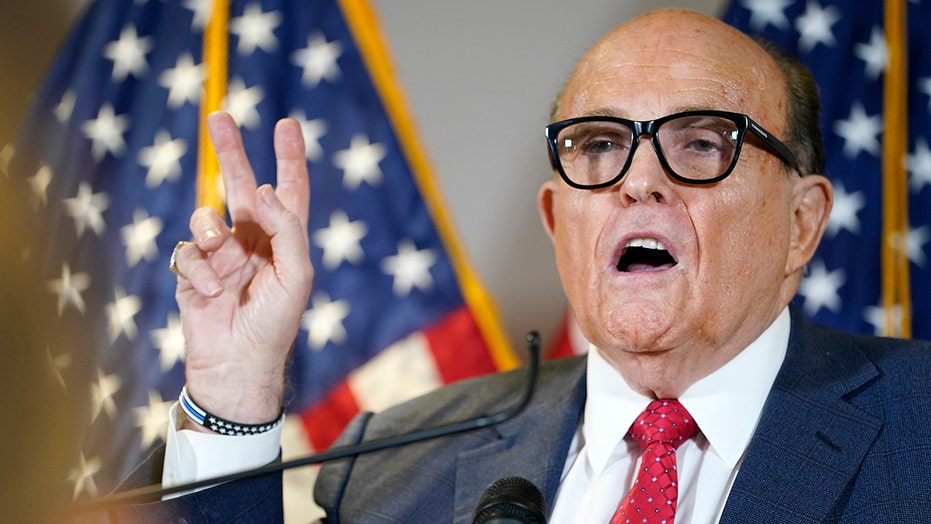 Giuliani: Coordinated effort of election fraud