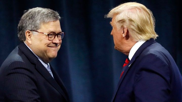 Trump, Barr clash over president's Roger Stone tweets