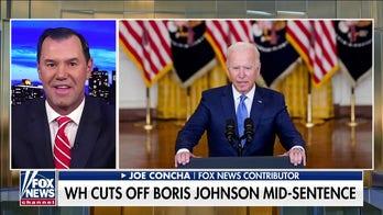 Biden avoids questions following sit-down with UK Prime Minister Boris Johnson