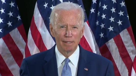 Biden meets with Floyd's family ahead of Tuesday's funeral