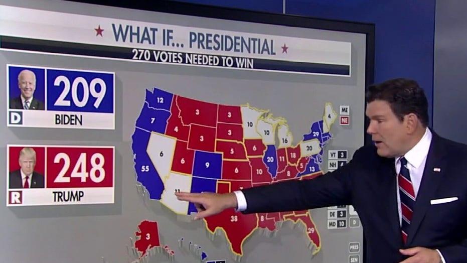 Die presidentsverkiesing kom daarop neer 12 state