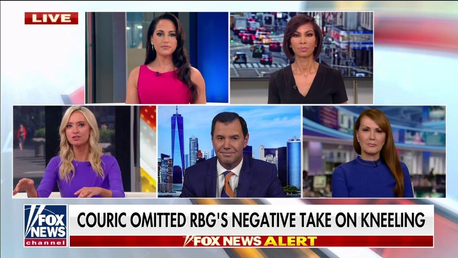 Concha, 'Outnumbered' hosts rip Couric for editing interview with RBG: 'This is Dan Rather territory'