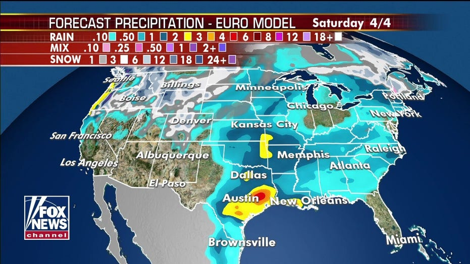 Severe threat through tonight: Fox weather forecast