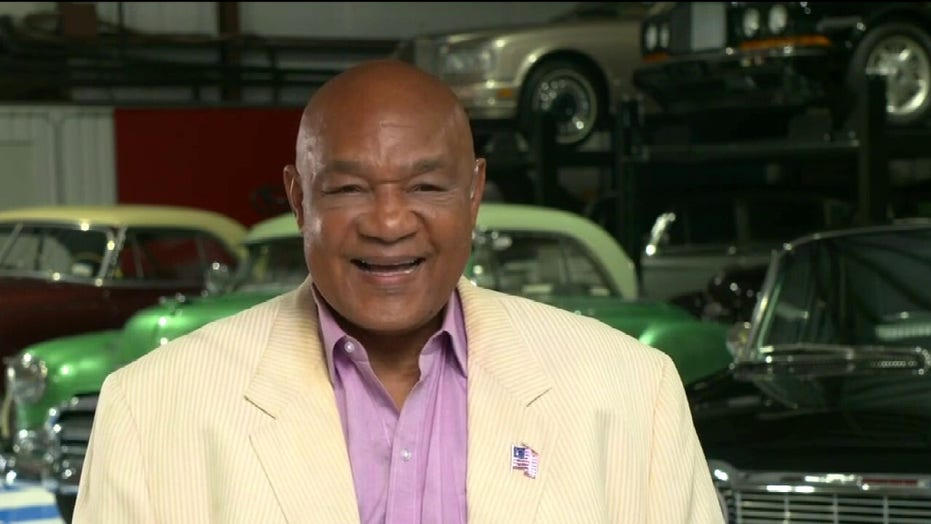 George Foreman pans anti-Americanism among some athletes: 'I will never turn my back on America'