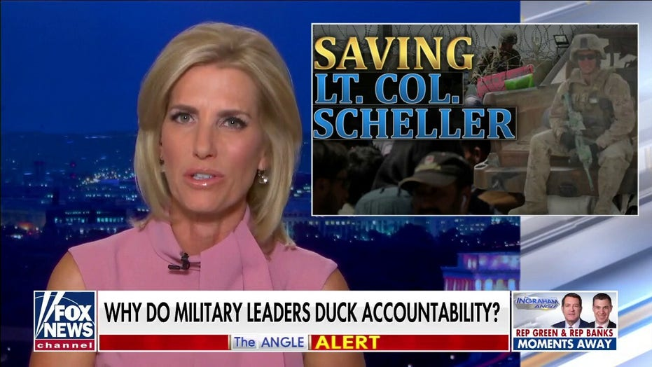 Ingraham: Marine punished for Afghanistan comments vs Milley's lack of responsibility shows 'double standard'