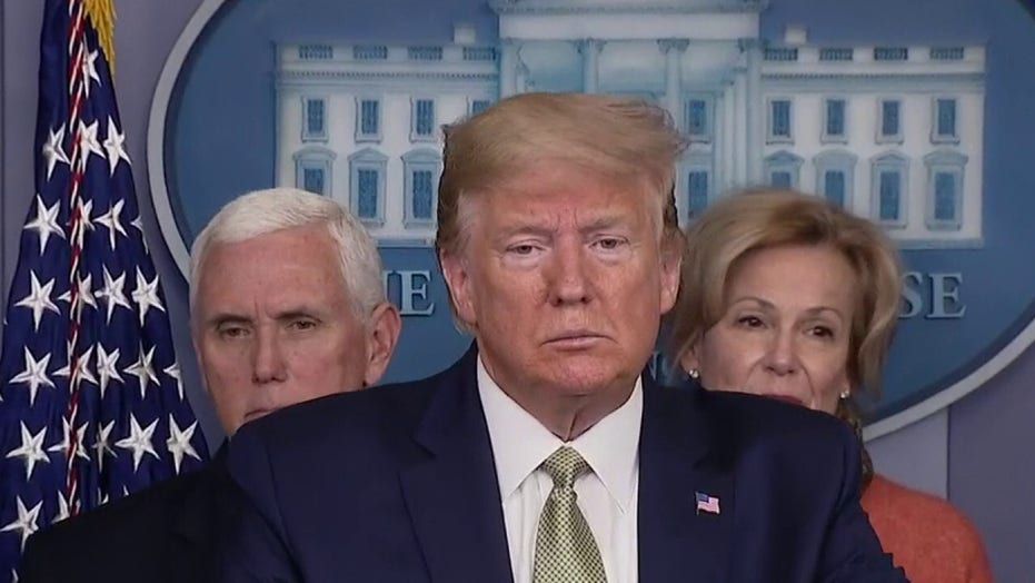 Trump, Pence and task force outline 15-day coronavirus plan