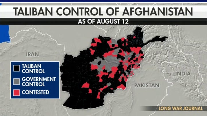 Taliban takes control of major city in Afghanistan