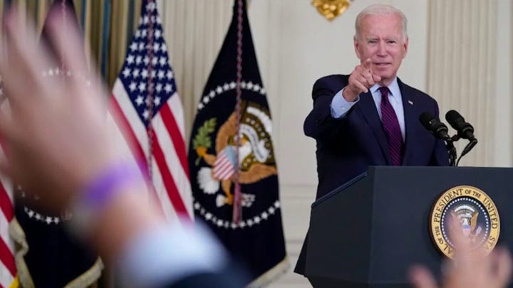Biden accuses GOP of playing 'Russian Roullete with the US economy'