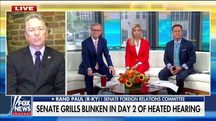Rand Paul breaks down heated exchange with Antony Blinken: They are 'worried they killed the wrong person'