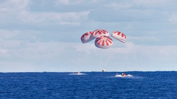 NASA astronauts in SpaceX capsule splash down in the Gulf of Mexico
