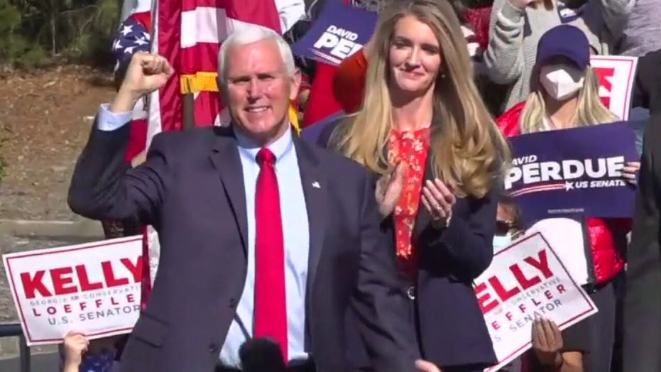 Pence heads to Georgia to whip up GOP support ahead of runoffs