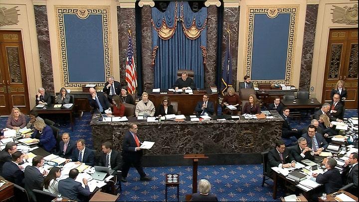 Impeachment question: Should Senate take partisan nature of Trump impeachment into account?