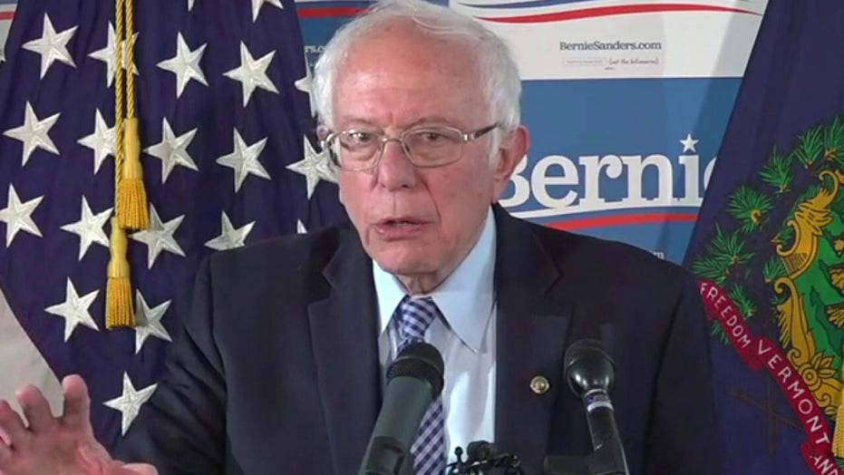 Sanders: Biden was a leader for getting the US involved in the war in Iraq