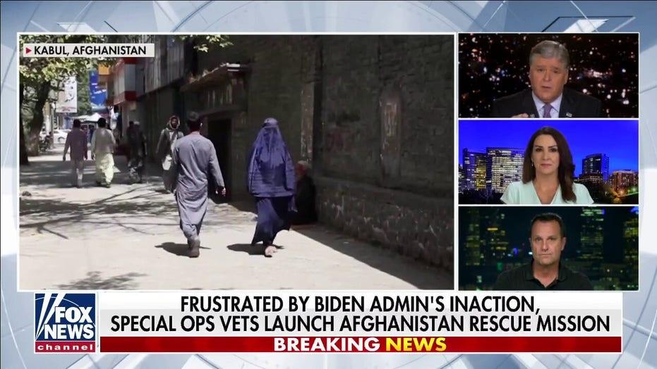 Intérprete afgano que ayudó a rescatar a Biden en 2008 Dejados atrás después de EE. UU.. Salida