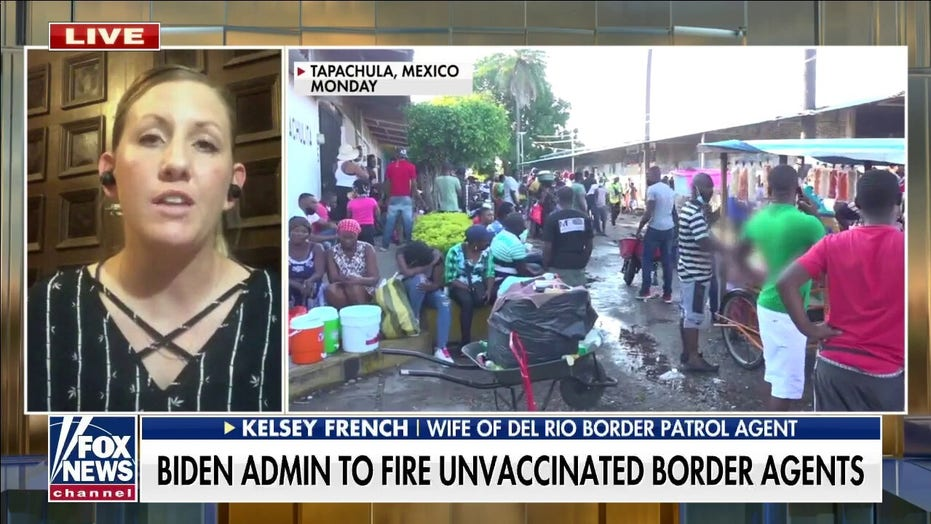 Border agent's wife blasts Biden plan to fire unvaccinated officers, says Border Patrol already undermanned
