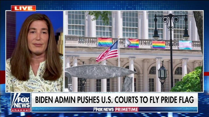 Biden administration reportedly pushes US courts to fly pride flags
