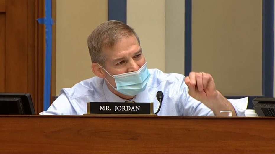 Maxine Waters snaps at Jim Jordan as COVID hearing with Fauci erupts into shouting match: 'Shut your mouth'