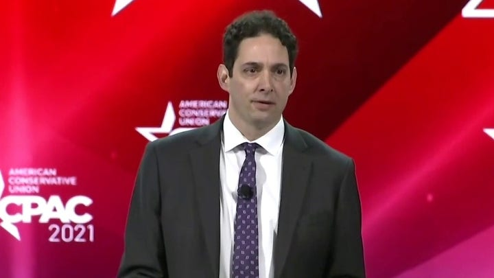 Alex Berenson speaks on censorship, freedom of speech, at CPAC
