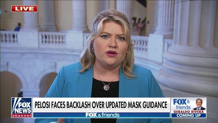 Rep Kat Cammack merobek mandat topeng Pelosi: 'Ini hanya gila'