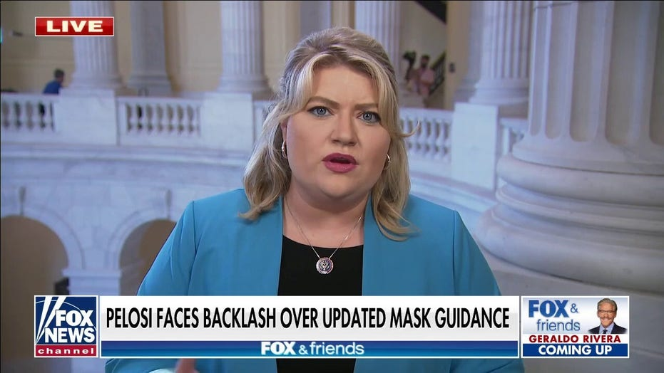 Rep. Kat Cammack rips Pelosi's 'hypocritical' House mask mandate: 'It's just nuts'