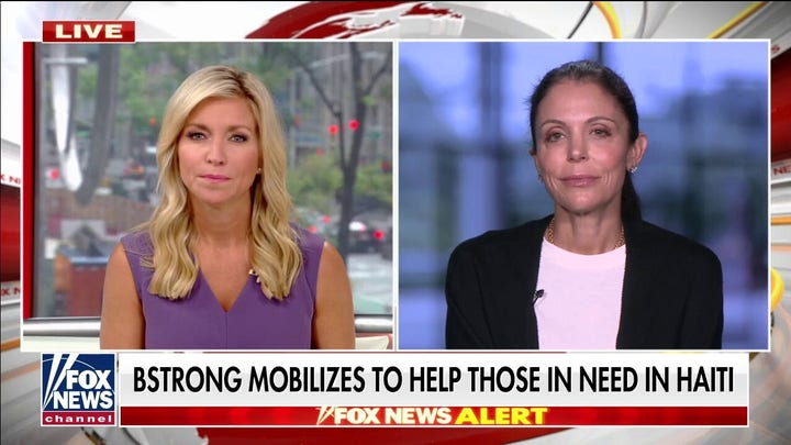 Bethenny Frankel's BStrong mobilizes to help Haiti earthquake victims