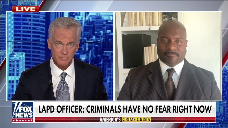 LAPD officer says criminals see that 'crime pays' under liberal policies