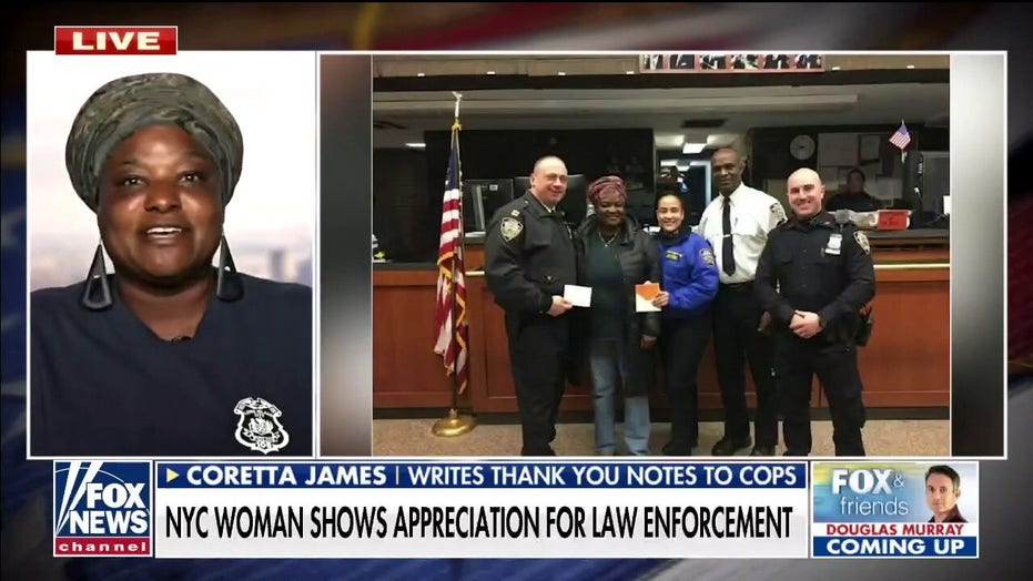 NYC resident plans to write thank-you notes to all 36,000 NYPD officers