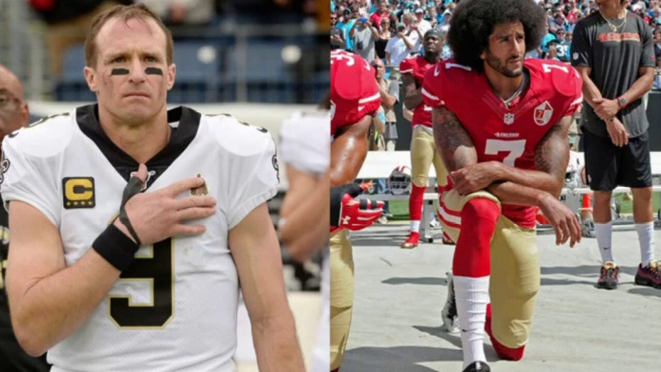 Brett Favre doesn't fault Drew Brees for his national anthem comments