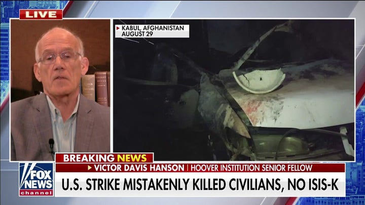 Hanson: Taliban now knows US will be 'hesitant' to strike after drone kills civilians