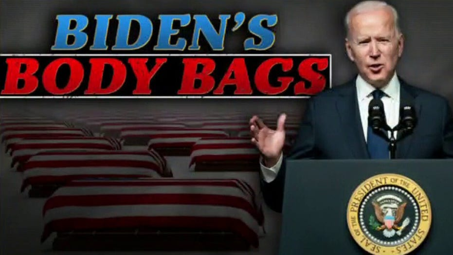 Ingraham: Afghan crisis results in 'Biden's body bags' as 'band of incompetents' affects real lives