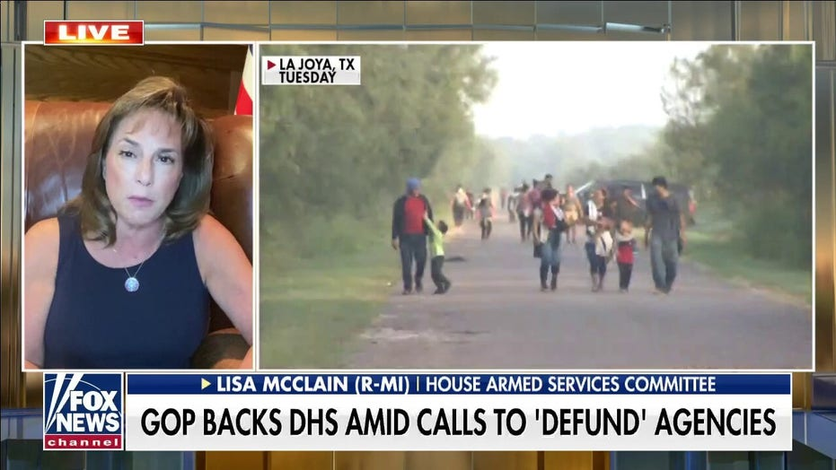 GOP lawmaker torches 'Squad' member's 'ridiculous, appalling' push to defund Border Patrol