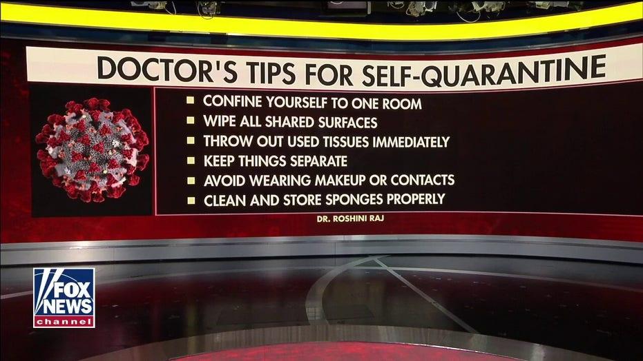 NYU Langone's Dr. Roshini Raj on how to properly self-quarantine