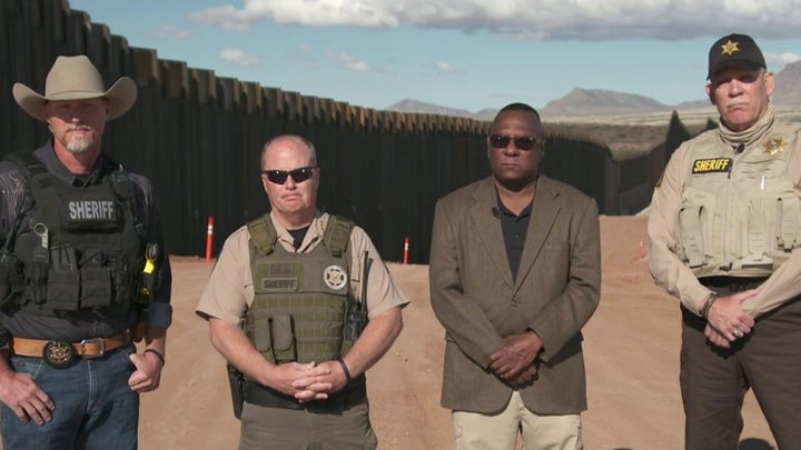 Biden's speech was an 'insult' to officers protecting the border: Arizona Sheriff