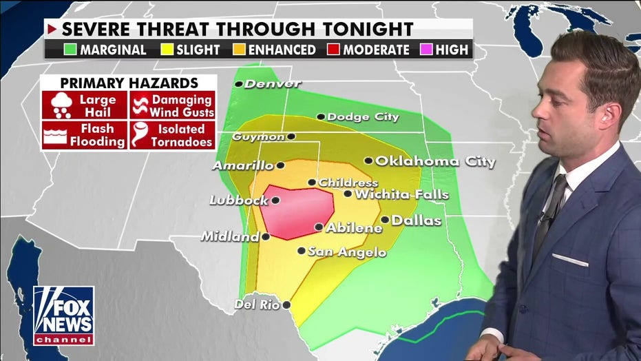 National weather forecast: Severe storms to impact Central, Southern US