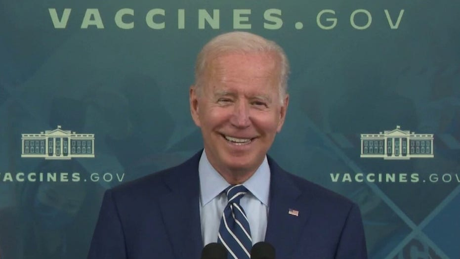 Biden accused of 'moving goalposts' on percentage of Americans who need to get jab to return normal