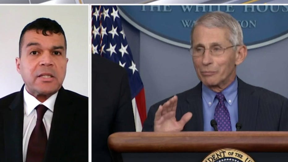 Former HHS official blasts Fauci over 'shifting goalposts' on COVID