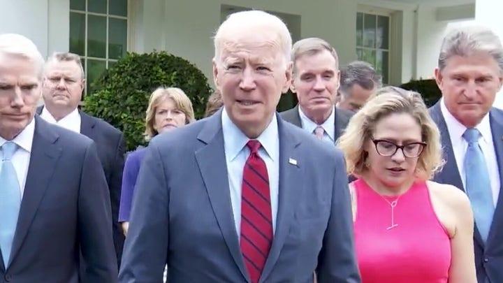 Media downplays Biden gaffe on infrastructure deal