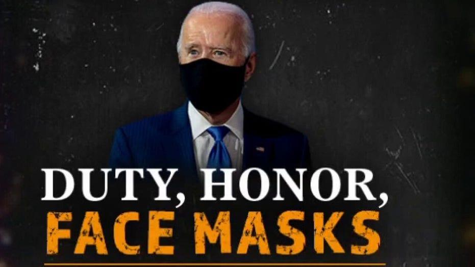 Hannity blasts Biden's mask 'masquerade'
